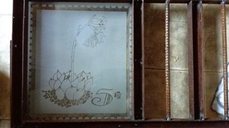 切手風の壁紙仕様例