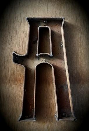 画像1: 鉄の図案文字*プランツボックス