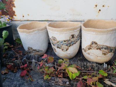画像2: ゼンタングル鉢〜木の実/3個セット